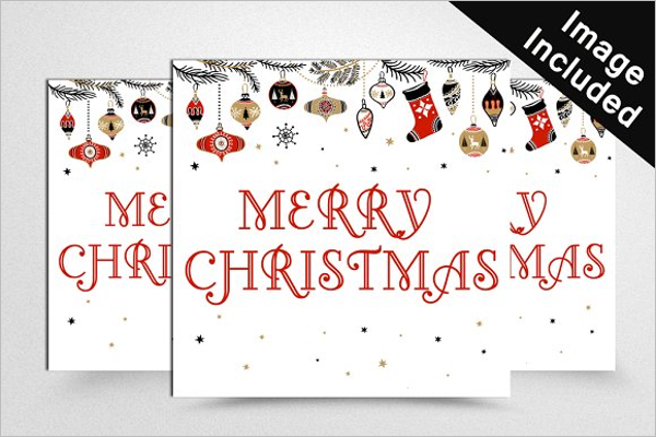 Editable Christmas Banner Template