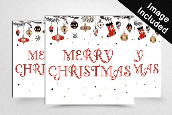 Editable Christmas Banner Template