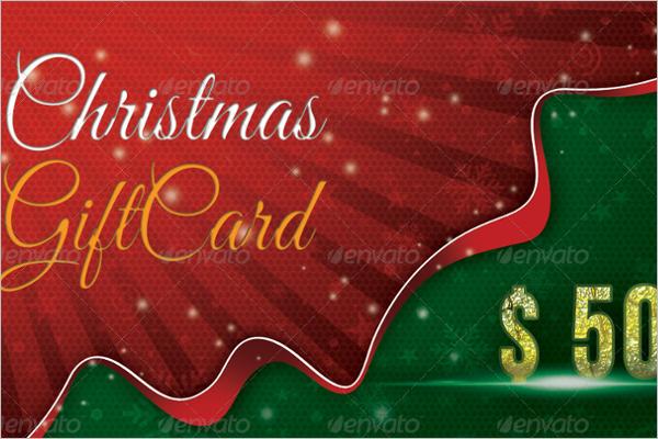 Editable Christmas Gift Template