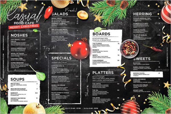 38 christmas menu templates free psd word pdf designs editable christmas menu template pronofoot35fo Image collections