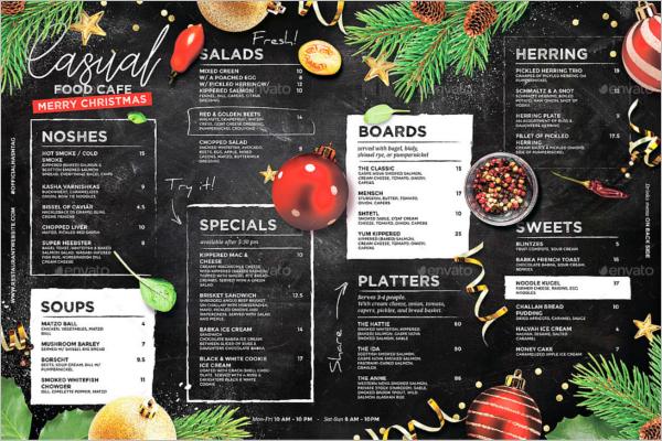 38 Christmas Menu Templates Free Psd Word Pdf Designs
