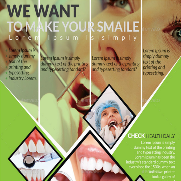 Editable Dental Flyer Template