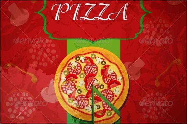 Editable Pizza Menu Template