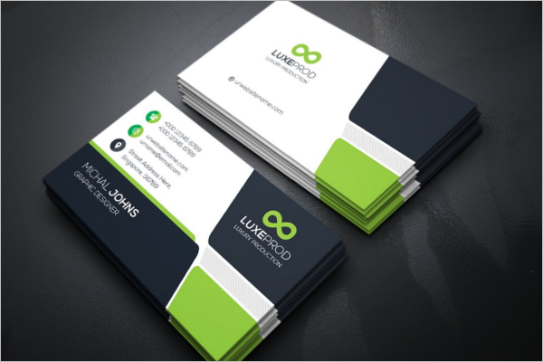 Editable Visiting Card Design