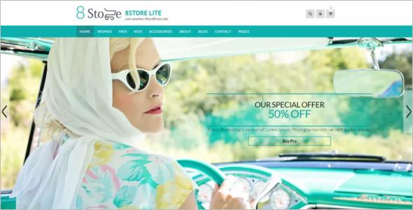 Eight Store Lite WordPress Theme