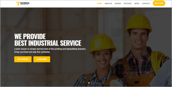 Electrical Engineering Website Template