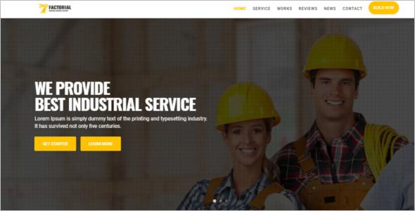 Electrical Engineering Website Template