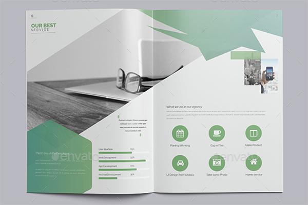 Elegant Brochure template for InDesign