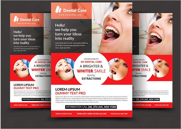 Elegant Dental Flyer Template