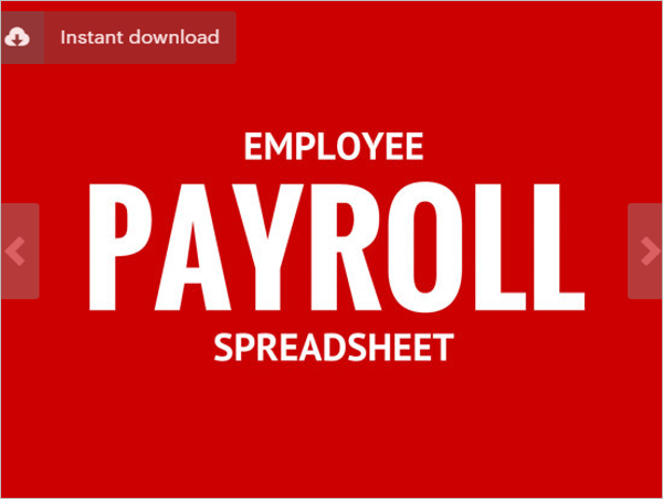 28 payroll templates free excel pdf word formats