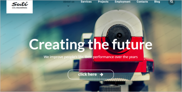 Engineering Consultancy Website Template