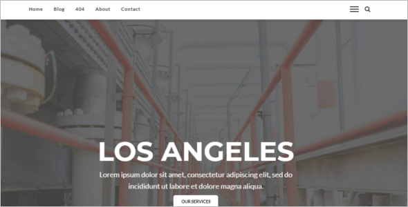 Engineering Theme WordPress