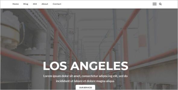 Engineering Theme WordPress