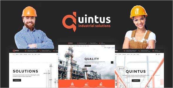Engineering Tool Website Template
