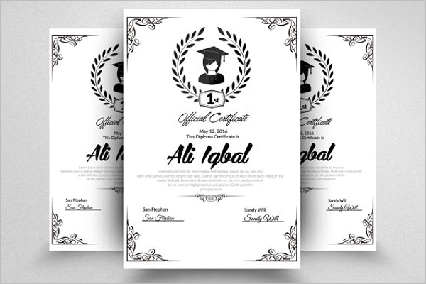 30 experience certificate templates free word pdf psd format experience certificate template psd yadclub Images