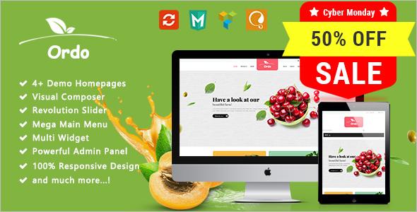 Farm & Agriculture Website Theme
