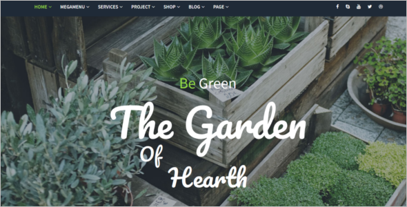 Farming Website HTML Template