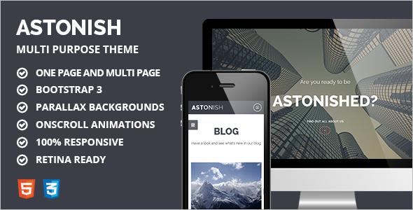 Flash Animated Website Template