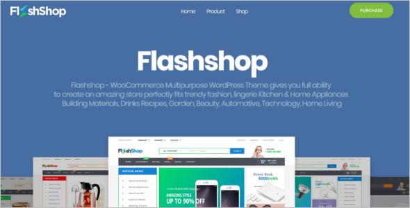 Flash Shop Multipurpose WooCommerce Theme