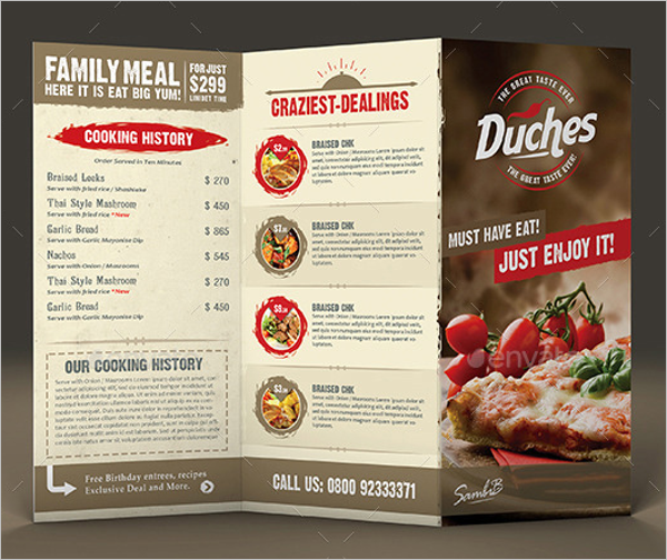 30+ Catering Menu Templates Free Design Sample Ideas