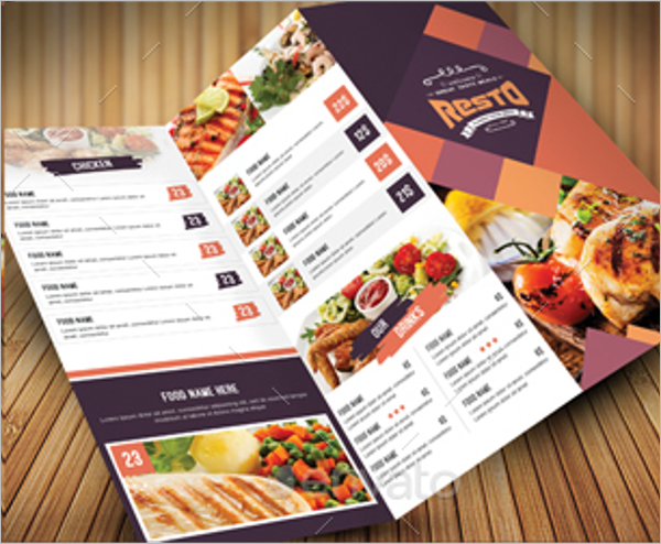 Food Menu Bundle Template