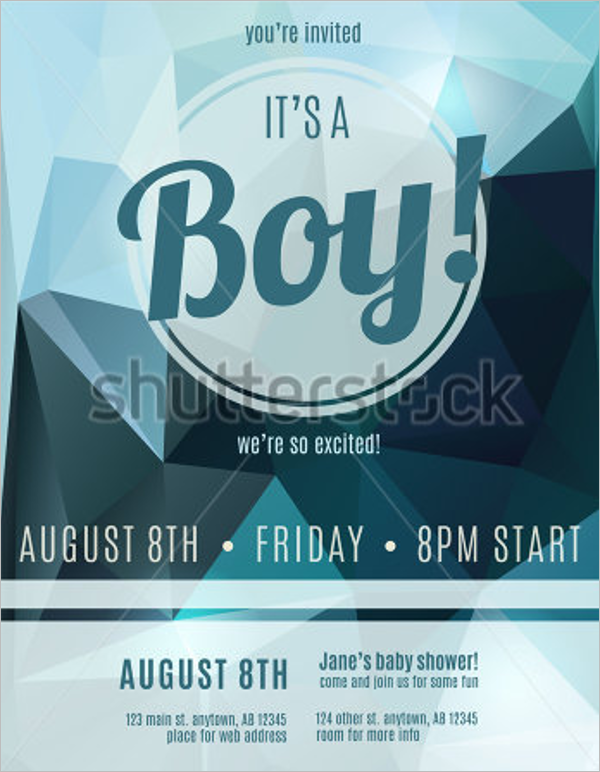Free Baby Shower Flyer Template