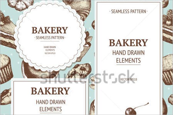 Free Bakery Menu Template