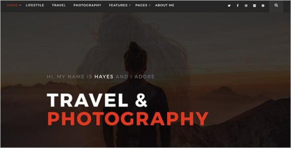 Free Blog Website Template