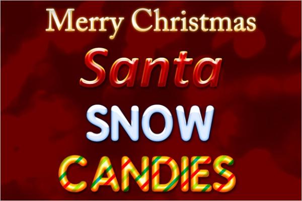 Free Christmas Photoshop pattern
