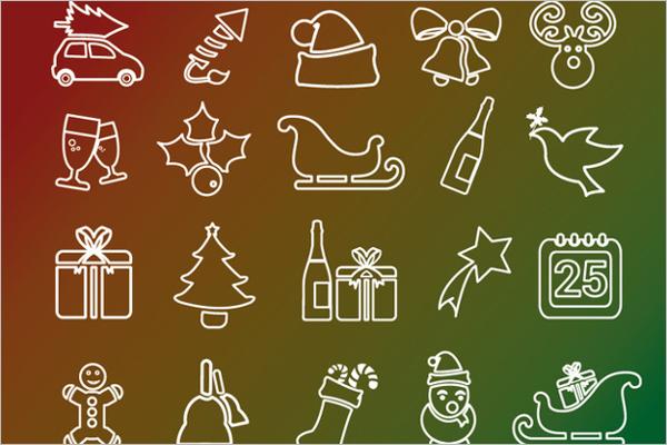Free Christmas Vector Template