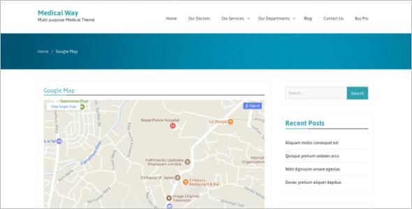 Free Hospital Website Template