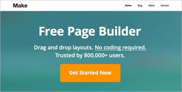 Free Page Builder WordPress Theme