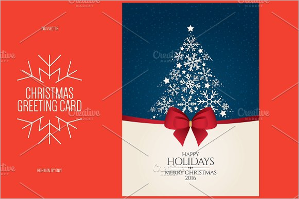 Free Photo Christmas Card Template