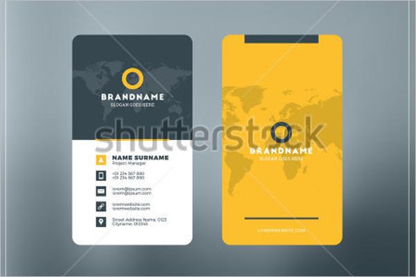 Free Visiting Card Design