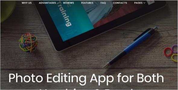 Free Website WordPress Template