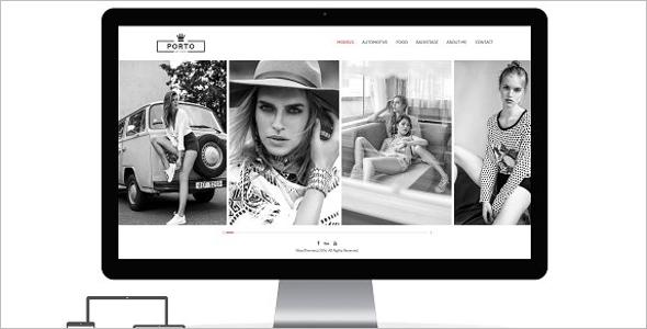 Fully Responsive Artist Website Template