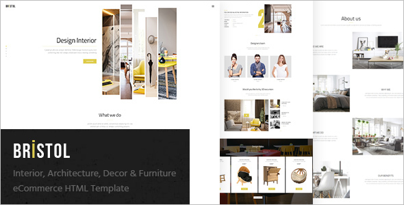 Furniture Shop Ecommerce Template