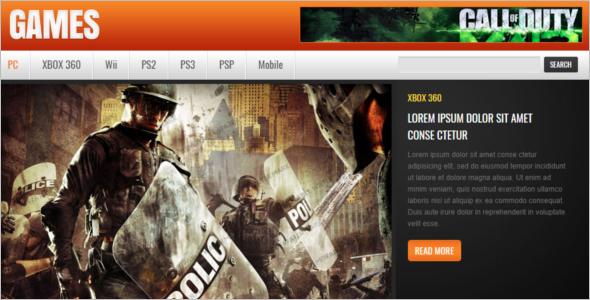 Gaming Website Developers