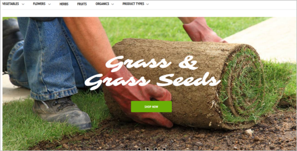 Gardening Website Magneto Theme