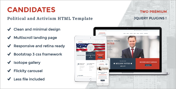 Government Agency Website Template