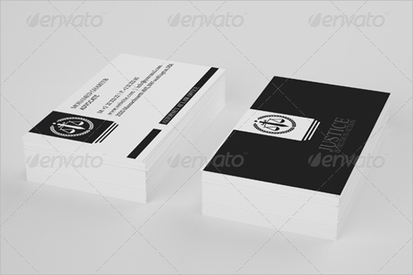 Graphic Lawyer Business Card