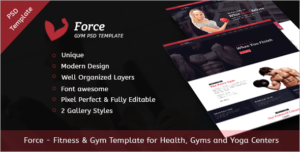 best paid blogger templates - 27 best gym website templates free fitness website themes