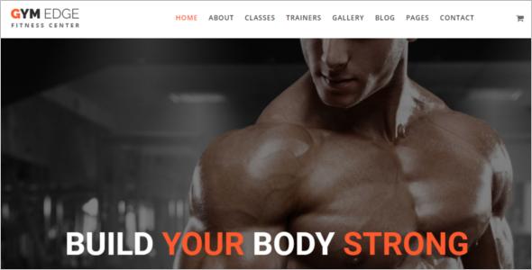 Gym Fitness Joomla Template