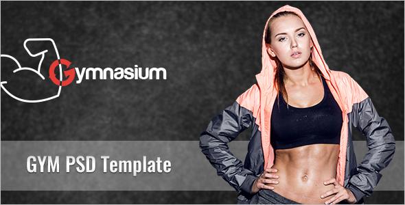 Gym PSD Website Template