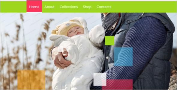 HTML 5 Family Website Template