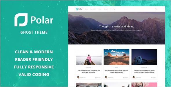HTML Blog Website Template