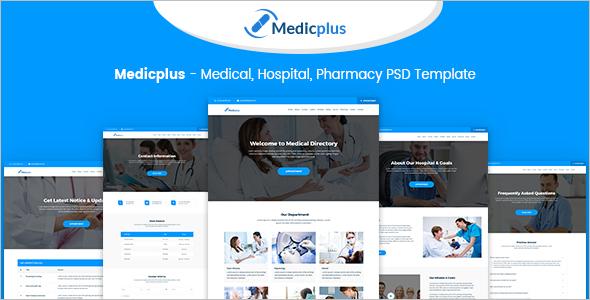HTML Hospital Website Template