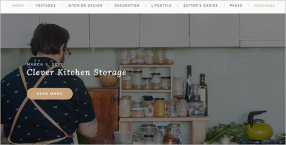 HTML5 Blog Page Website Template
