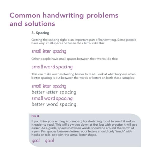 Handwriting Worksheets For Kindergarten