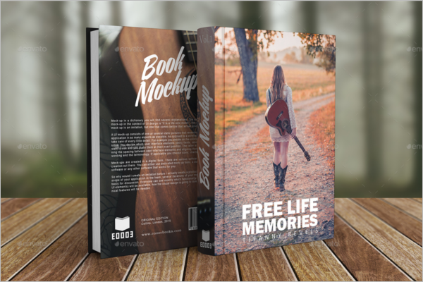 Hardcover Book Mockup Template